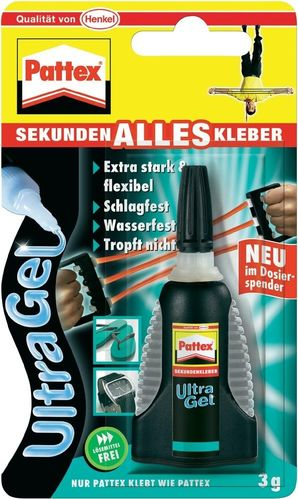 Pattex Sekundenalleskleber Ultra Gel Matic