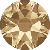 Swarovski® 2078 CRYSTAL GOLDEN SHADOW - Hotfix